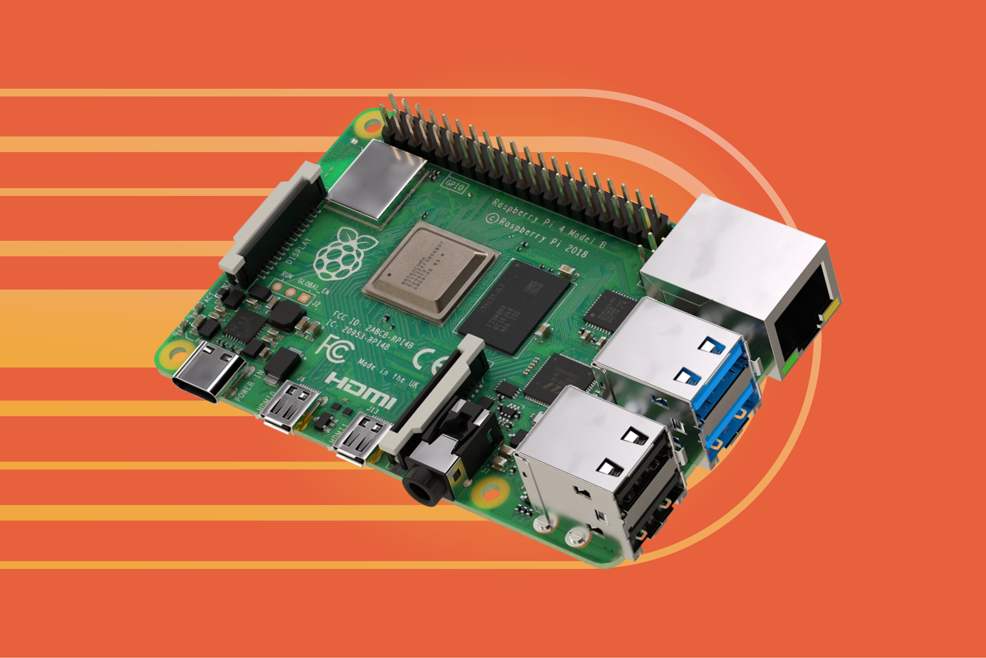 Extending the Edge to Embedded Linux with Official Support for Raspberry Pi 4